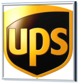 transporteur UPS, logo partenaire expedeasy.com