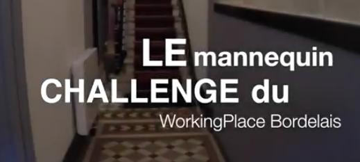 Mannequin Challenge de WorkingPlace, espace de coworking Bordeaux